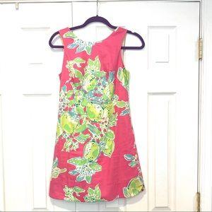 Lilly Pulitzer Pink Lemon Sleeveless dress